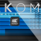 Target Takoma Fabric Limited Edition Darttasche Dartcase Dartbox Wallet Blau
