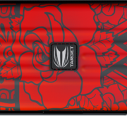 Target Takoma INK Limited Edition Darttasche Dartcase Dartbox Wallet Rot