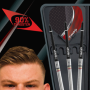 BULL'S Steel Darts Mike de Decker 90% Tungsten Steel Dart Steeldart Steeltip 22 g