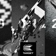 Erste Target Dart 2021 Dart Collection Launch 29.01.2021 29. Januar 2021 Target Stephen Bunting SWISS Gen 4 - Danny Baggish Gen 1 - Cool Play Collarless RVB Comeback Shirt