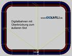 Zusatzeinspeisung für Zweileiter Digitalbahnen wie zum Beispiel Carrera Rennbahnen