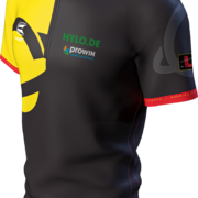 Target Darts Cool Play Collarless Shirt Gabriel Clemens German Giant Matchshirt Dart Shirt Dartshirt Trikot Design 2021