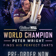 Red Dragon Peter Wright World Championship 2020 Edition Weltmeister Darts 2020