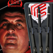 BULL´S Soft Darts Mensur Suljovic Black-Edition Soft Dart Softdart Softtip Edition 2020 18 g