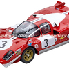 Carrera Digital 124 Ferrari Scuderia Filipinetti Nr.3 1970 Art.Nr. 20023856, 23856