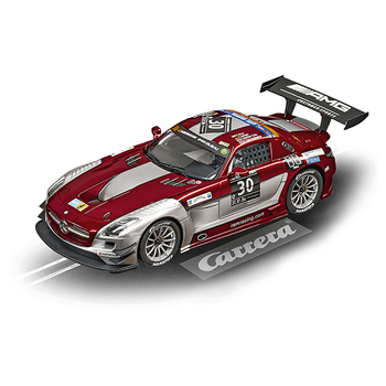 Carrera Digital 124 Mercedes-Benz SLS AMG GT3 Ram Racing Nr. 30 24 h of Dubai 2015 Art.Nr.23864