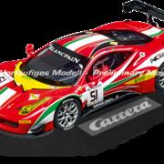 Carrera Digital 124 Ferrari 458 Italia GT3 AF Corse Team Blancpain GT Sports Club Christoph Ulrich Nr.51 Art.Nr. 23879 / 20023879