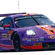 Carrera Digital 124 Auto Porsche 911 RSR Project 1 Nr. 57 23913