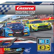Carrera Digital 132 Rennbahn GT Race Battle Set / Grundpackung 30011