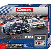 Carrera Digital 132 Rennbahn Autorennbahn DTM Speed Memories Set / Grundpackung 30015