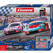 Carrera Digital 132 Rennbahn Autorennbahn Asphalt Masters Set / Grundpackung 30017