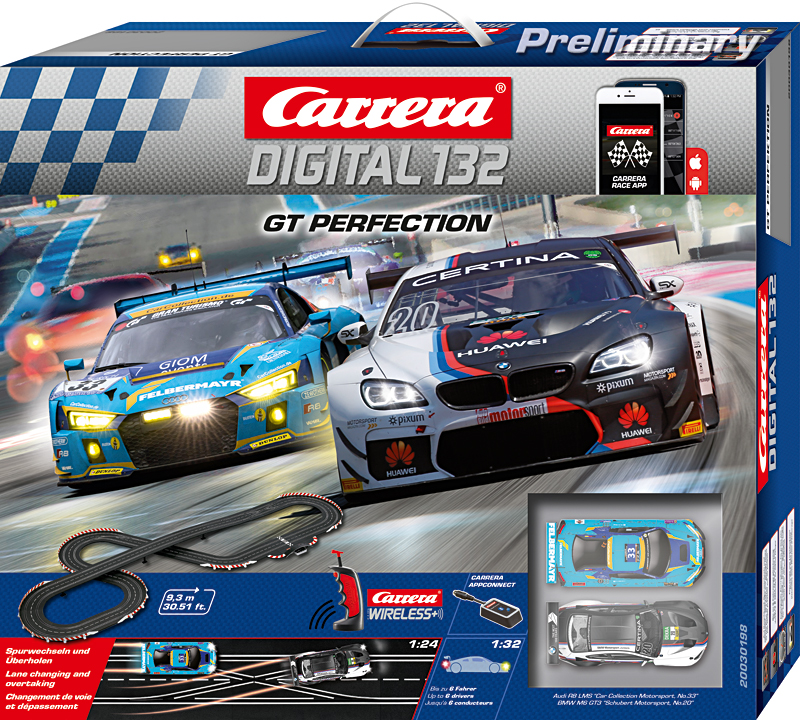 Carrera Digital 132 Grundpackungen / Sets