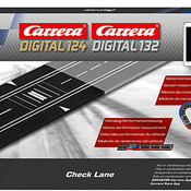 Carrera Digital 124 / 132 Check Lane Artikel Nr.: 400.30371-vorbestellt / Termin Quartal 1 2017