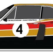 Carrera Digital 132 Auto BMW 3.5 CSL Nr. 4 Silverstone 6h 1976 30956