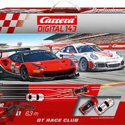 Carrera Digital 143 GT Race Club Grundpackung / Set Art.Nr. 40039 / 20040039