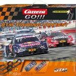 Carrera GO!!! DTM Touring Contest Set / Grundpackung Art.Nr. 62423 / Verfügbar im Handel ab KW 32 (07. - 11.08.2017)