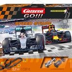 Carrera GO!!! Speed Stars Set / Grundpackung Art.Nr. 64425 / Verfügbar im Handel ab KW 27 (03. - 07.07.2017)