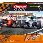 Carrera GO!!! Champions Lap Set / Grundpackung Art.Nr. 64428 / Verfügbar im Handel ab KW 27 (03. - 07.07.2017)