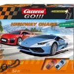 Carrera GO!!! Highway Chase Set / Grundpackung Art.Nr. 62430 / Verfügbar im Handel ab KW 27 (03. - 07.07.2017)
