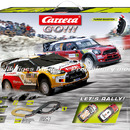 Carrera GO!!! Let´s Rally Grundpackung / Set  Art.Nr. 20062433, 62433