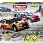 Carrera GO!!! Let's Rally! Set / Grundpackung Art.Nr. 62433 / Verfügbar im Handel ab KW 27 (03. - 07.07.2017)