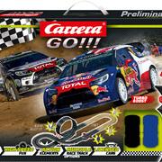 Carrera GO!!! Super Rally Grundpackung / Set Art.Nr. 62495 / 20062495