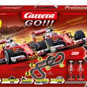 Carrera GO!!! Ferrari Race Spirit Grundpackung / Set Art.Nr. 62505 / 20062505