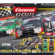 Carrera GO!!! Rennbahn DTM Winners Set / Grundpackung 62519