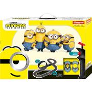 Carrera GO!!! Rennbahn Minions Yellow Racing Set / Grundpackung 62523