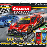 Carrera GO!!! Rennbahn Race the Track Set / Grundpackung 62526