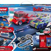 Carrera GO!!! Rennbahn Autorennbahn Build 'n Race - Racing Set / Grundpackung 62530