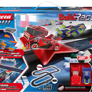 Carrera GO!!! Rennbahn Autorennbahn Build 'n Race - Racing Set / Grundpackung 62531