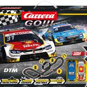 Carrera GO!!! Rennbahn Autorennbahn DTM Pure Power Set / Grundpackung 62533