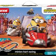 Carrera GO!!! Battery Rennbahn Autorennbahn Minions - Kart Racing Set / Grundpackung 63507