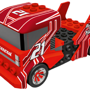 Carrera GO!!! / GO!!! Plus Auto Build n Race - Race Truck red 64180