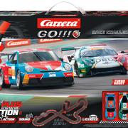Carrera GO!!!+ Plus Rennbahn Autorennbahn Race Challenge Set / Grundpackung 66014