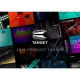 Target Darts neuer Dart Katalog Target Product Launch 2018 Hauptkatalog Startseite