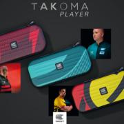 Target Takoma Pro Player-Spieler Darttasche Dartcase Dartbox Wallet Phil Taylor, Gabriel Clemens, Rob Cross