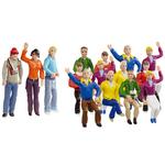 Carrera Figurensatz Fans Art.Nr. 21128 / Verfügbar im Handel ab KW 41 (09. - 13.10.2017)