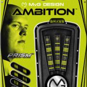 Winmau Steel Darts MvG Michael van Gerwen Ambition Black Brass Steeltip Dart Steeldart 2020 22 g Verpackung