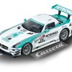 Carrera Digital 124 Mercedes-Benz SLS AMG GT3 Petronas Nr.28 Art.Nr. 23837 / Verfügbar im Handel ab KW 38 (18. - 22.09.2017)