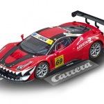 Carrera Digital 124 Ferrari 458 Italia GT3 Kessel Racing Nr.69 Art.Nr. 23838 / Verfügbar im Handel ab KW 38 (18. - 22.09.2017)