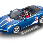 Carrera Digital 132 Porsche 911 Carrera S Cabriolet Porsche Motorsport Nr. 38 Art.Nr. 30789 / Verfügbar im Handel ab KW 41 (09. - 13.10.2017)