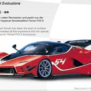 Carrera Digital 132 Ferrari FXX K Evoluzione Nr.54 Art.Nr. 30894 / 20030894