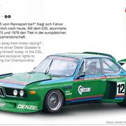 Carrera Digital 132 BMW 3,5 CSL Nr.12 1976 Art.Nr. 30897 / 20030897