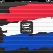 Target Takoma Flag XL Darttasche Dartcase Dartbox Wallet Niederlande Art.Nr. 540.330005
