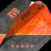 Target Dart Pro Ultra RVB 95 G4 Dart Flight Raymond van Barneveld Dartflight Design 2021 Nummer 2