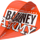 Target Raymond van Barneveld Barney Army Orange Pro Ultra Dart Flight Kite 2019 Art.Nr. 540.334290