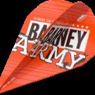 Target Raymond van Barneveld Barney Army Orange Pro Ultra Dart Flight Vapor 2019 Art.Nr. 540.334300