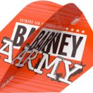 Target Raymond van Barneveld Barney Army Orange Pro Ultra Dart Flight TEN-X 2019 Art.Nr. 540.334310